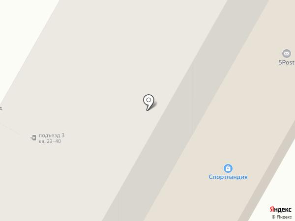 GalSeR на карте Верхней Пышмы