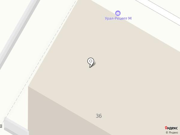 Ростелеком, ПАО на карте Верхней Пышмы