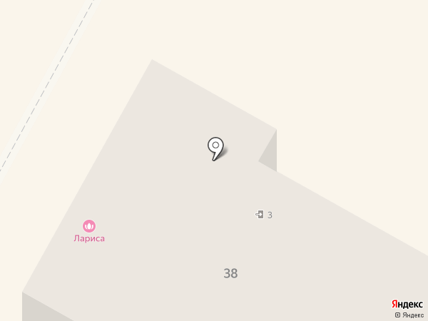 Лариса на карте Верхней Пышмы