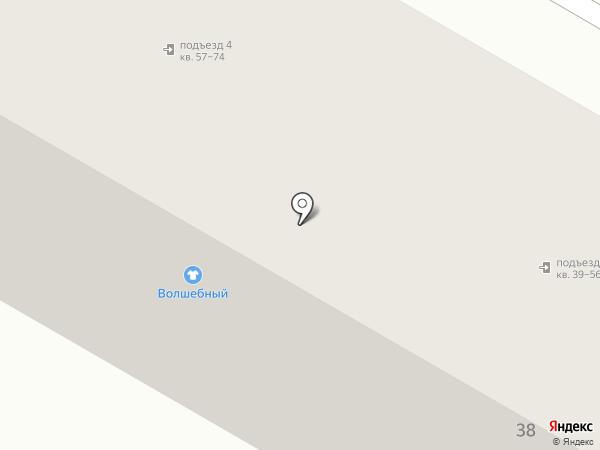 Волшебный на карте Верхней Пышмы