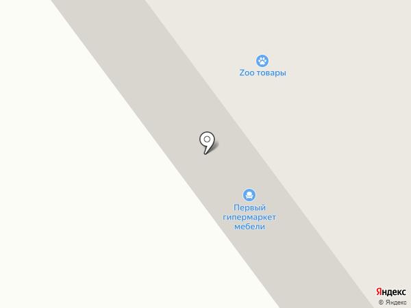 Осьминожка на карте Верхней Пышмы