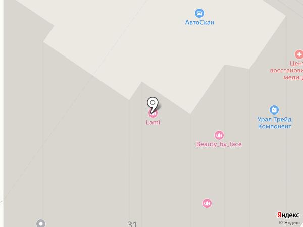 ДВМ-Сервис на карте Екатеринбурга