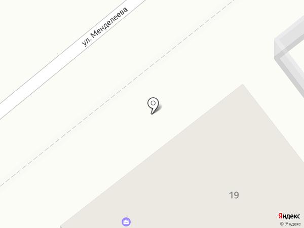 Бизнес-Квартал на карте Верхней Пышмы