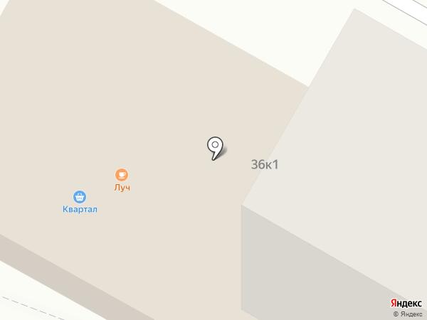 Квартал на карте Верхней Пышмы