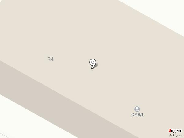 Отдел полиции на карте Верхней Пышмы