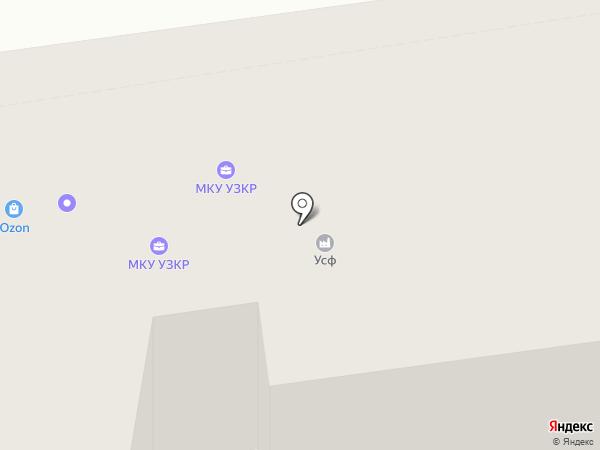 RiK на карте Екатеринбурга