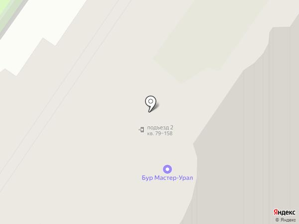Тихий Дворик, ТСН на карте Екатеринбурга