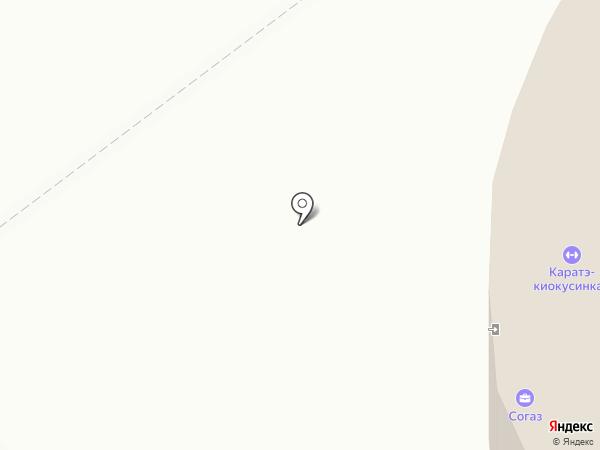 Юниор на карте Верхней Пышмы
