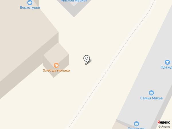 Горбушка на карте Верхней Пышмы
