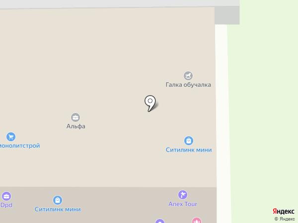 Ситилинк mini на карте Верхней Пышмы