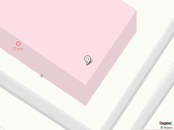 ДЭНАС на карте Екатеринбурга