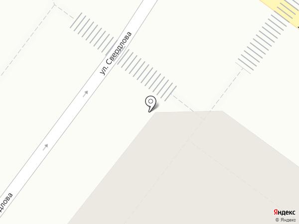 Городской центр проката на карте Верхней Пышмы