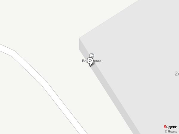 Водоканал, МУП на карте Верхней Пышмы