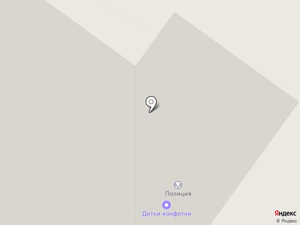 Участковый пункт полиции на карте Верхней Пышмы