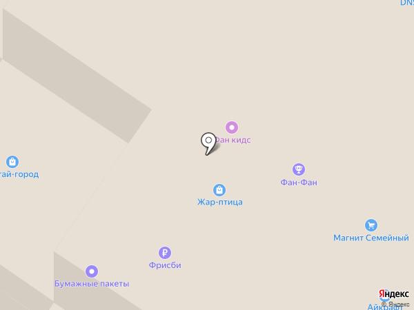 Магазин головных уборов на карте Екатеринбурга