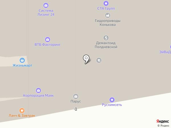 МосПроф на карте Екатеринбурга