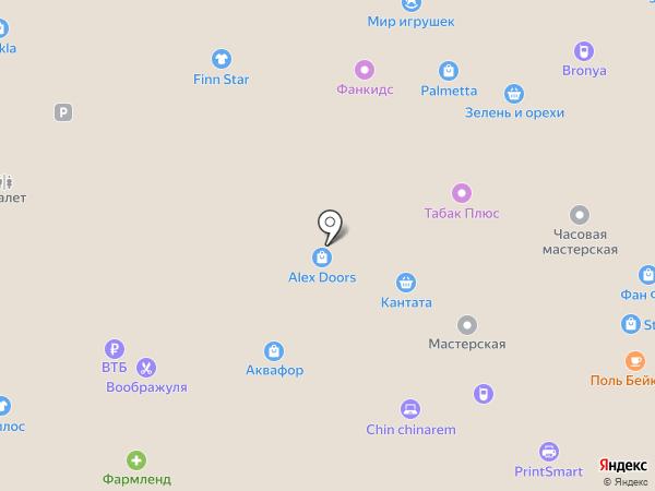 Deja Vu на карте Екатеринбурга