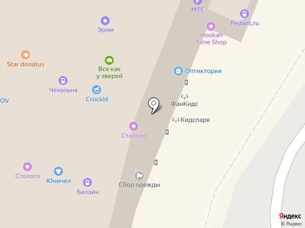 Все как у зверей на карте Екатеринбурга