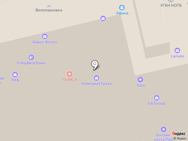 Аквариум на карте Екатеринбурга