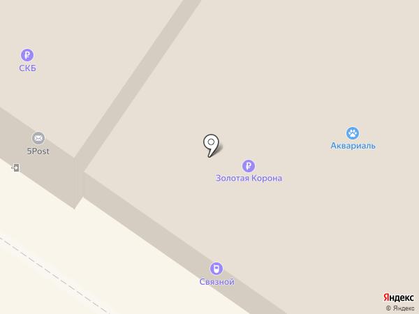 7я на карте Екатеринбурга