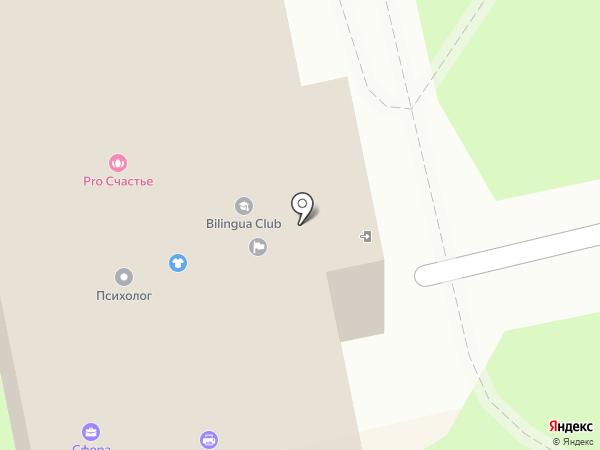 Визитточка на карте Екатеринбурга