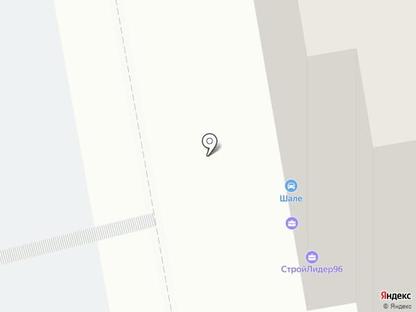 Гараж 96 на карте Екатеринбурга