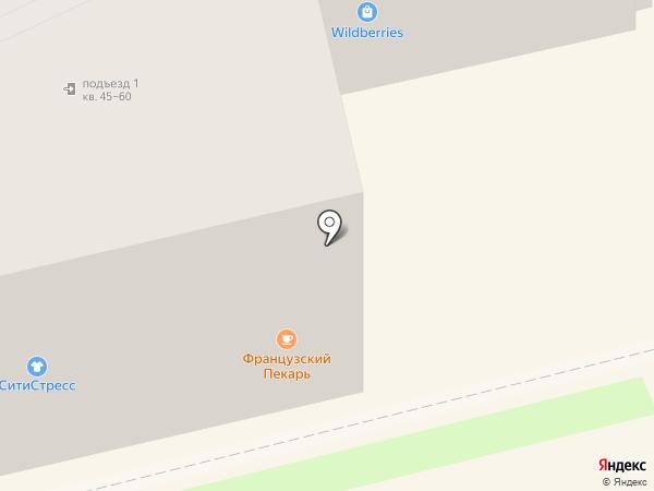 Французский Пекарь на карте Екатеринбурга