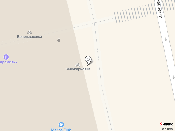 Via Moda на карте Екатеринбурга