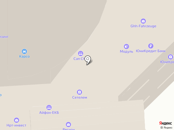 Манго Телеком на карте Екатеринбурга