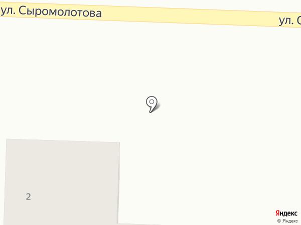 Maderus на карте Верхней Пышмы