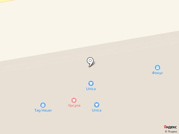 Via Cappella на карте Екатеринбурга