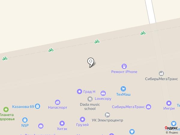 Атмосфера Групп на карте Екатеринбурга