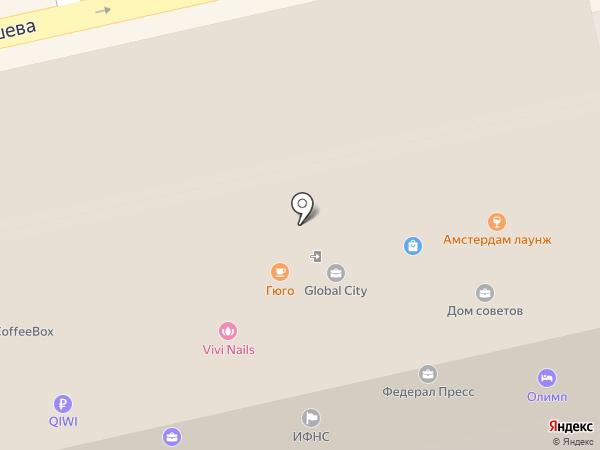 APPLE CENTREKB на карте Екатеринбурга