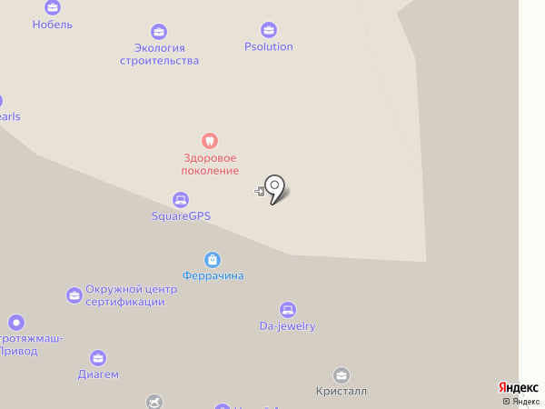 Ruspearls на карте Екатеринбурга