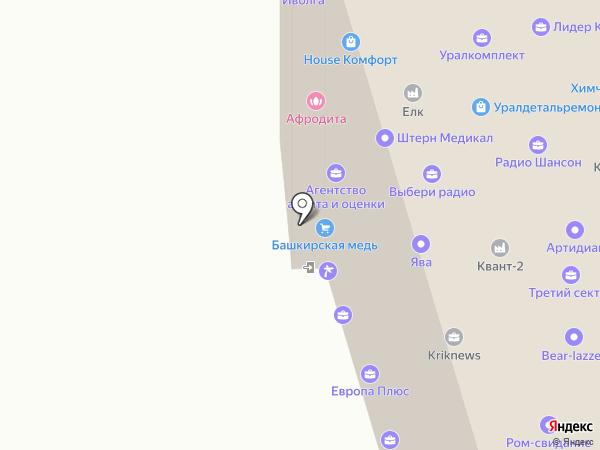 СТРОЙ ДОМ66 на карте Екатеринбурга