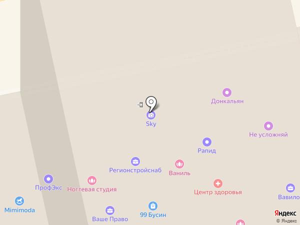 Абсолют на карте Екатеринбурга