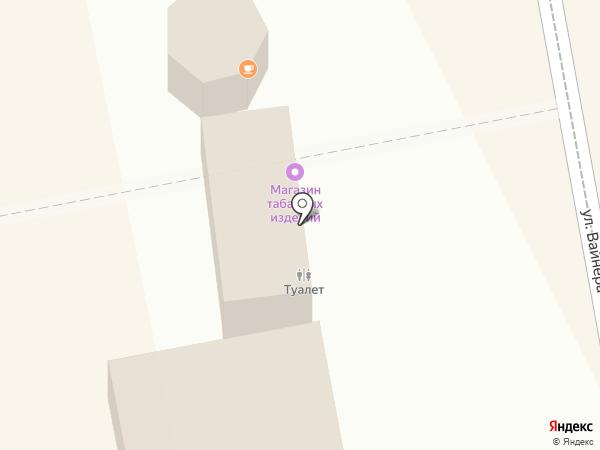 Магазин табачных изделий на карте Екатеринбурга