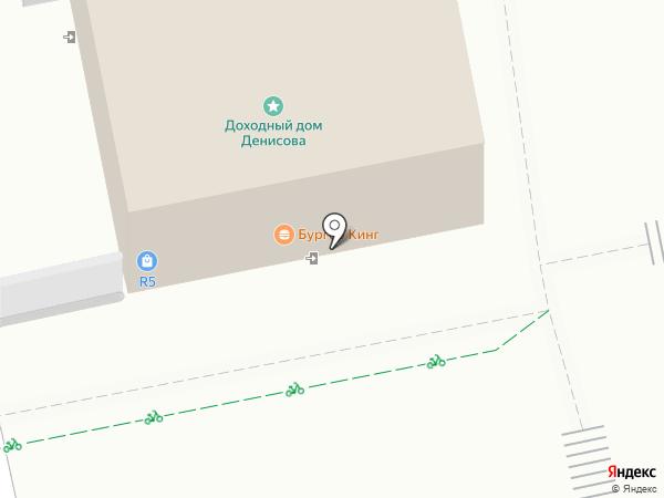 Burger Кing на карте Екатеринбурга