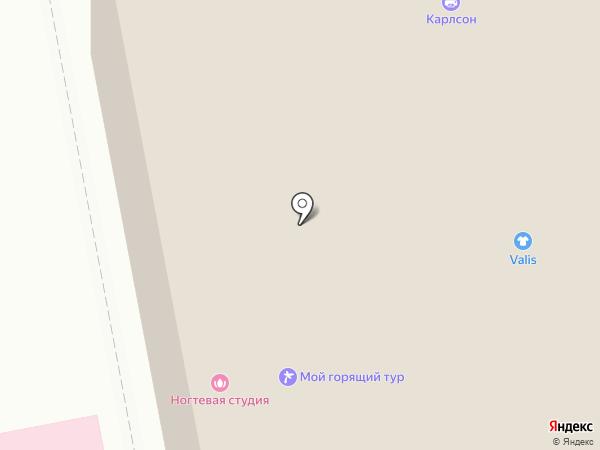Мансарда на карте Екатеринбурга