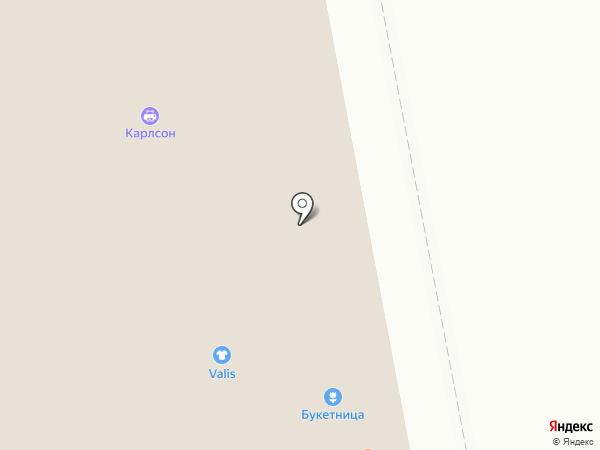 БУКЕТНИЦА на карте Екатеринбурга