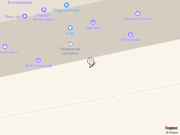 Траектория на карте Екатеринбурга