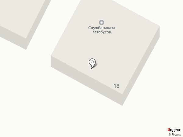 Служба заказа автобусов на карте Верхней Пышмы