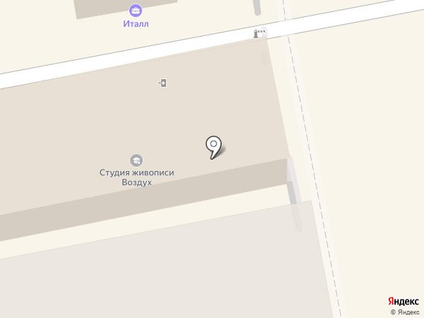 ВОЗДУХ на карте Екатеринбурга