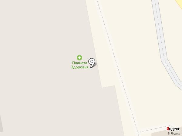 Американка на карте Екатеринбурга