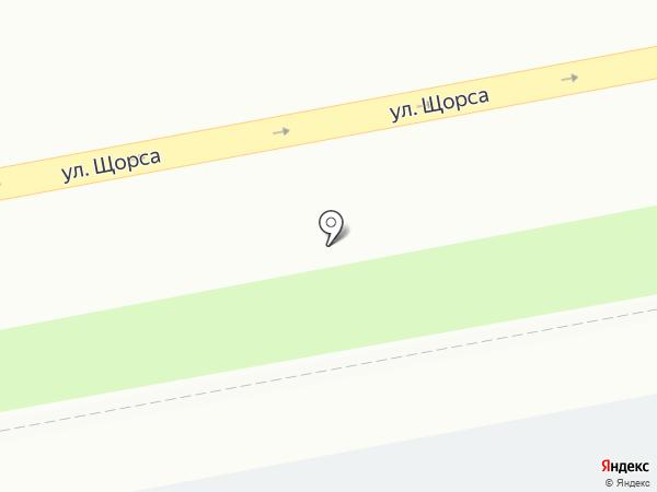 Автостоянка на карте Екатеринбурга