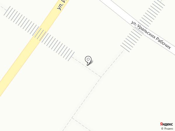 Магазин фруктов и овощей на карте Екатеринбурга