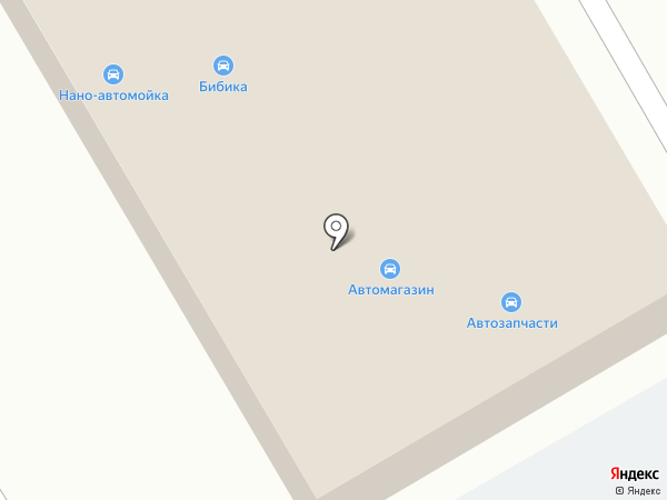 Бибика на карте Верхней Пышмы