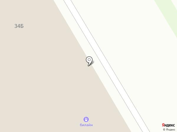 Эларико на карте Верхней Пышмы