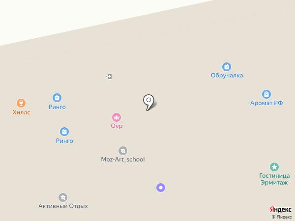 Синтера на карте Екатеринбурга