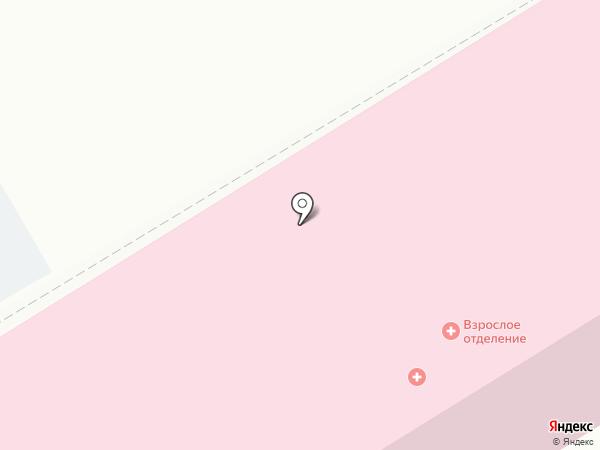 Поликлиника на карте Верхней Пышмы